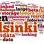 June 9th (Pre Conference Sessions, Morning): #or2014 start of pre-conference tweet wordle, representing the hopes and dreams of attendees...