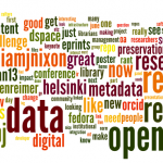 June 17th: It's a few days after #or2014, and things have quieted down on twitter.  Here's the final conference wordle.